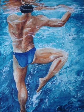 Swimmer -  Treading water